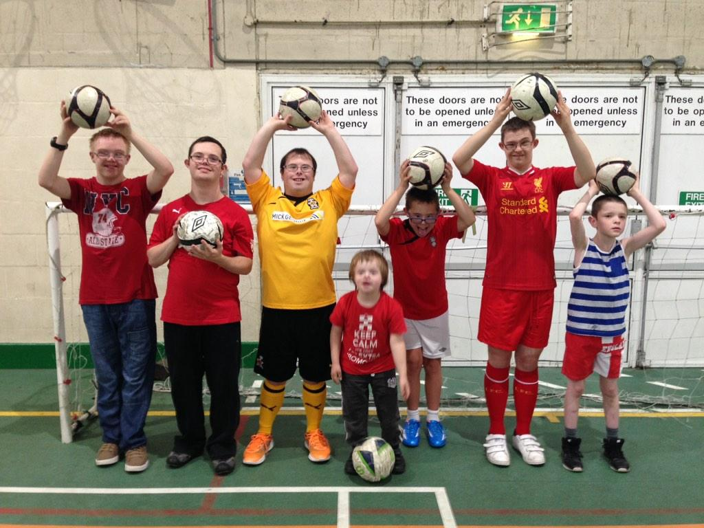 Disability Football sessions